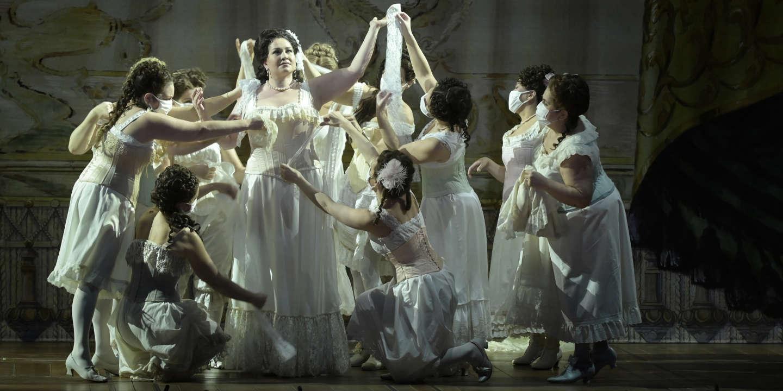 Quand « Aïda », diffusé jeudi sur Arte, redonne vie à l'Opéra de Paris - Le Monde