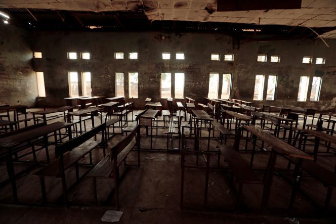 Une salle de classe à Kagara, au Nigeria, le 18 février 2021.