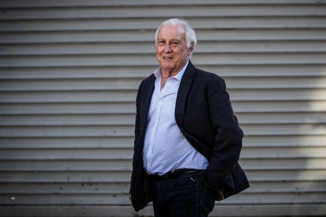 Le président du conseil scientifique, Jean-François Delfraissy, le 26 avril 2020 à Paris.