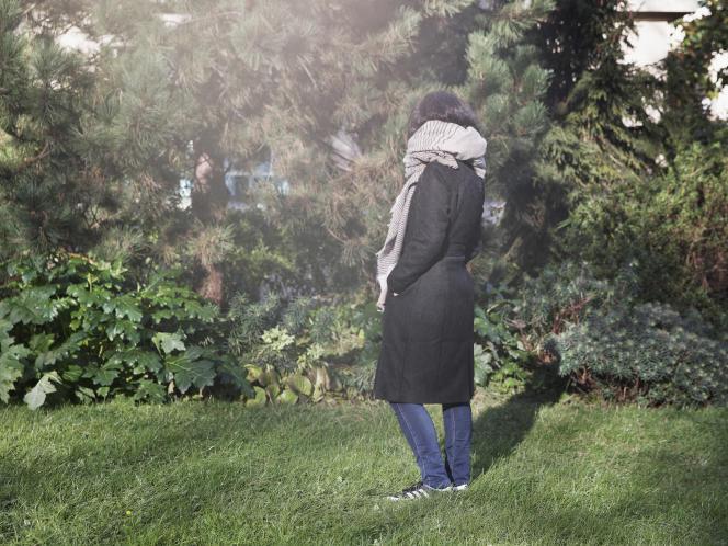 Lucie, enseignante de 42 ans, à Montreuil (Seine-Saint-Denis), le 25 janvier.