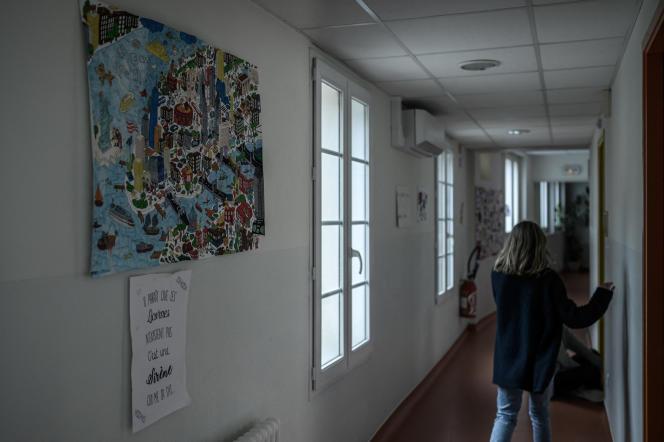 La maison d'accueil Jean-Bru propose des soins aux jeunes filles victimes de violences conjugales et sexuelles à Agen, le 10 décembre 2020.