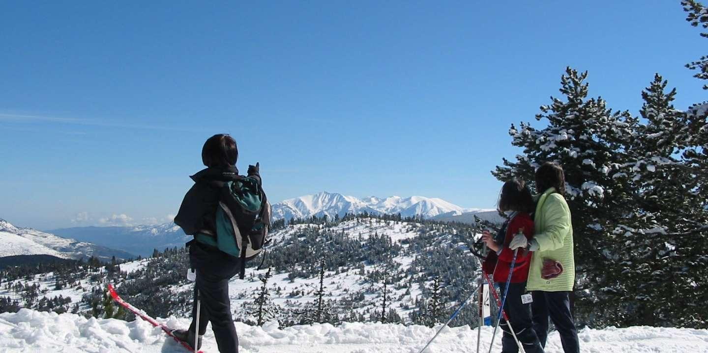Cinq sites d'exception pour redécouvrir les joies du ski de fond - Le Monde