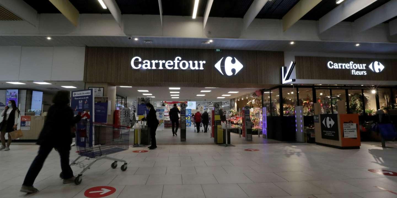 Les ventes de Carrefour ont progressé en France à la faveur de la crise sanitaire - Le Monde