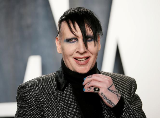 Marilyn Manson, à Los Angeles, en Californie, le 9février 2020.