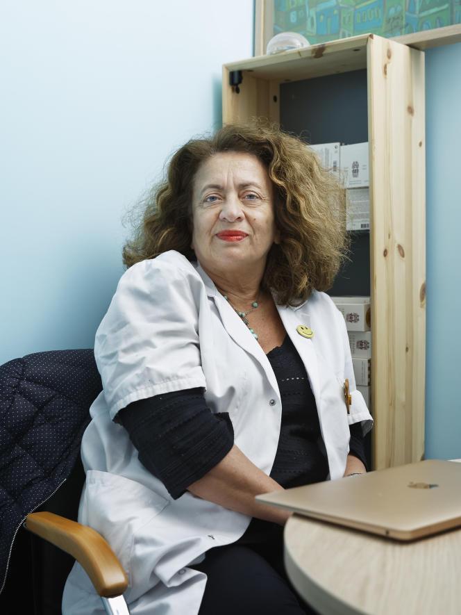 La docteure Ghada Hatem-Gantzer, médecin-cheffe de la Maison des femmes de Saint-Denis (Seine-Saint-Denis), le 19 mai 2020.