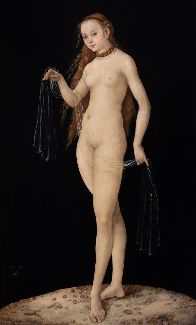 « Vénus» (1531), de Lucas Cranach l'ancien (1472-1553), huile sur bois, Musée duLiechtenstein.
