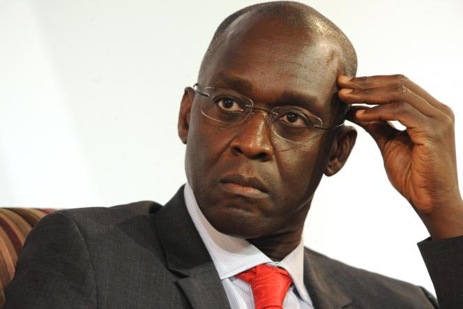 Le vice-président de la Banque mondiale pour l'Afrique, Makhtar Diop, à Dakar,en juin 2014.