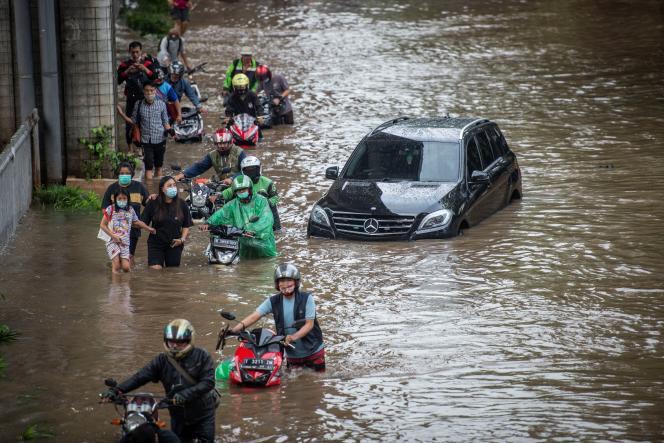 Doscientos barrios se vieron afectados por las inundaciones.