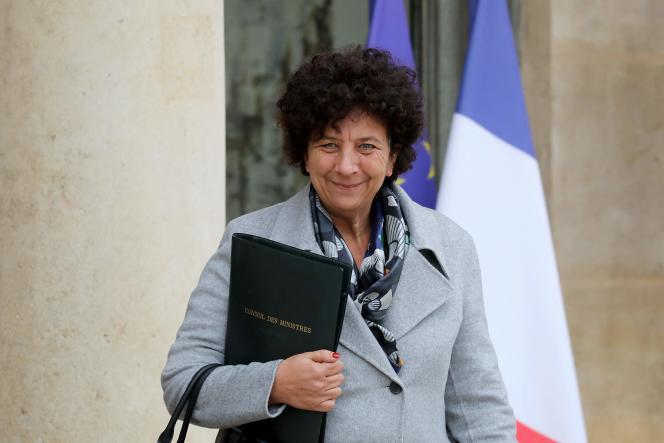 La ministre de l'enseignement supérieur, Frédérique Vidal, après un conseil des ministres, le 30 octobre 2021.