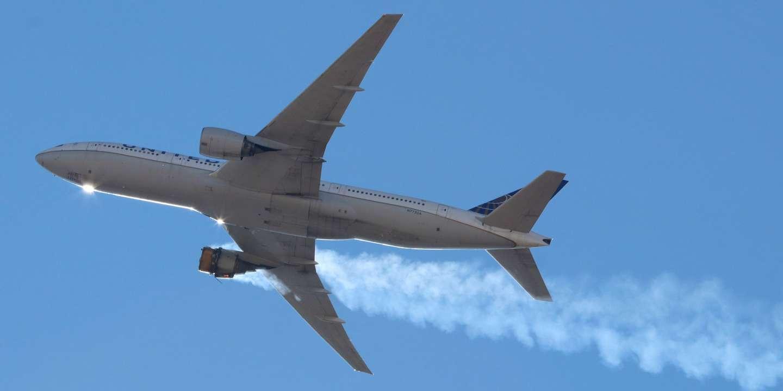 Etats-Unis : des débris d'un avion en difficulté tombent sur Denver - Le Monde