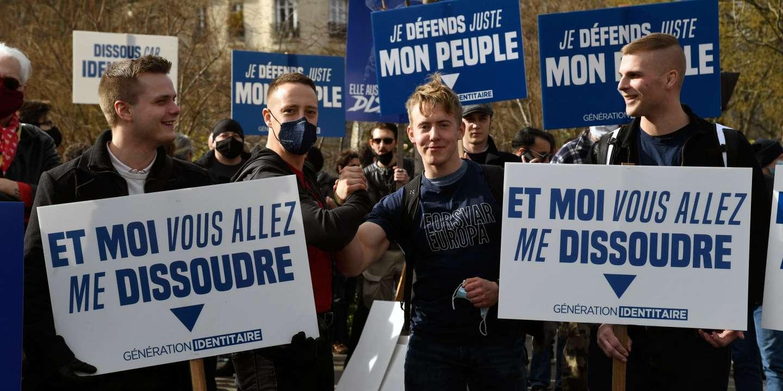 Le groupe d'extrême droite Génération identitaire dissous en conseil des ministres