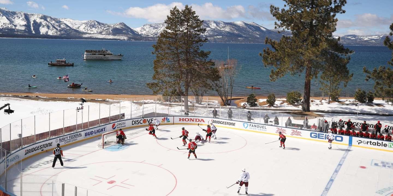 Hockey sur glace : trop de soleil, pas de match - Le Monde