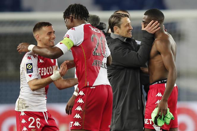 En s'imposant face à Brest, dimanchen Monaco a enchaîné une 9e victoire en dix matchs.