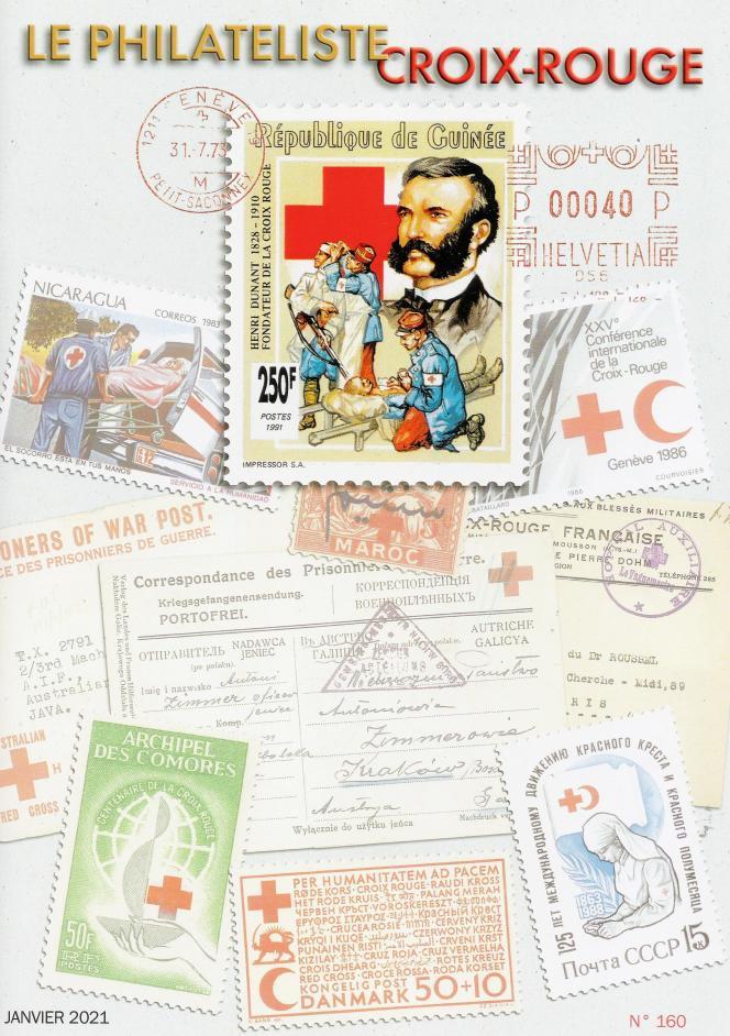 « Le Philatéliste Croix-Rouge », n° 160, janvier 2021, 44 pages, édité par le Club thématique Croix-Rouge, 20, rue Carnot, 95690 Nesles-la-Vallée