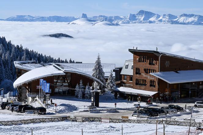 La station de ski de Chamrousse, près de Grenoble, le 7 janvier 2021.