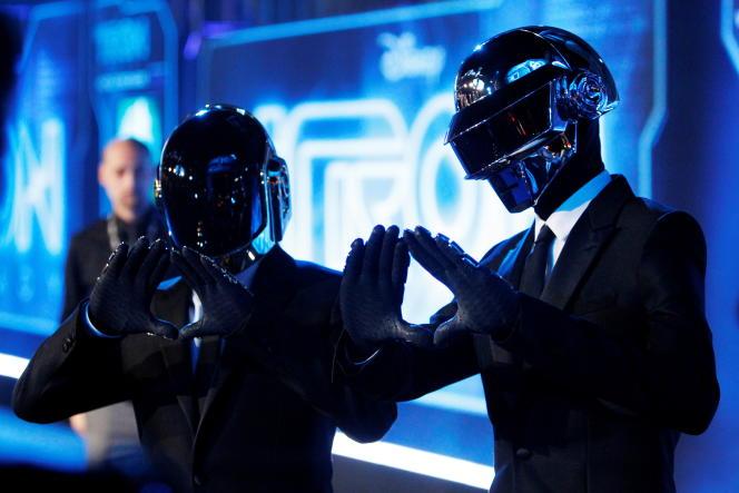 Le duo, formé par les Français Thomas Bangalter et Guy-Manuel de Homem-Christo, a annoncé sa séparation, lundi 22 février.