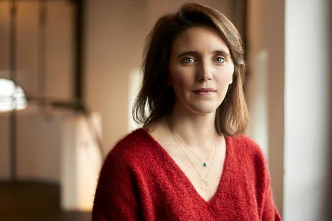La metteuse en scène Julie Deliquet, le 25 janvier 2019, à la Comédie-Française, à Paris.