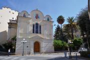 L'église russe orthodoxe Saint-Nicolas-et-Sainte-Alexandra, à Nice.