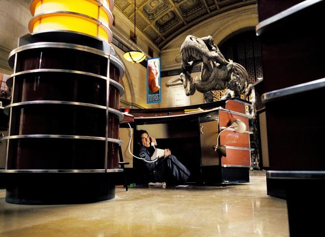 Robin Wiliams dans « La Nuit au musée », film américain de Shawn Levy.