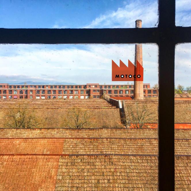 Le Motoco,un «lieu de production artistique», installé dans une impressionnante friche industrielle à Mulhouse (Haut-Rhin), depuis 2013.