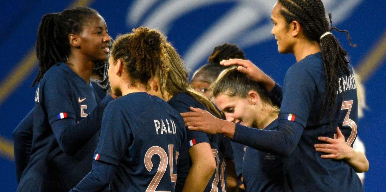 Match de football amical : les Bleues font plier la Suisse en fin de match (2-0) - Le Monde