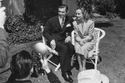 Clark Gable et Carole Lombard, en 1939.
