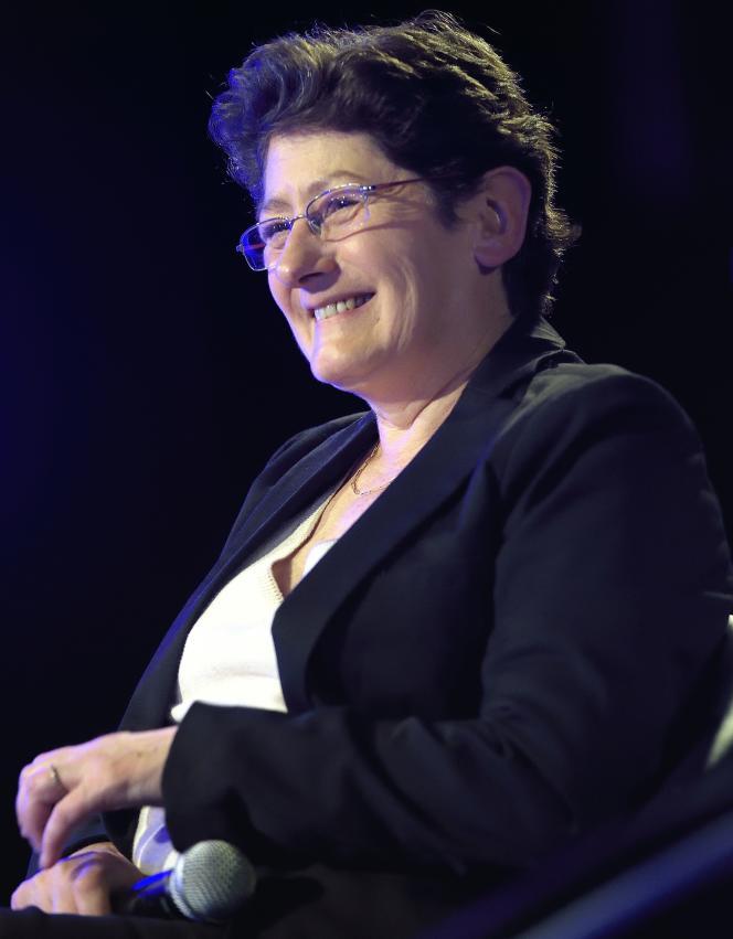 Isabelle Dhordain en 2016.