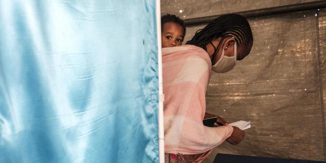 A Mekele, en Ethiopie, le 9 septembre 2020.