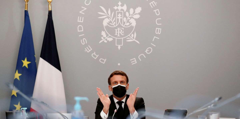 « Emmanuel Macron se retrouve face à un double défi : s'inventer un bilan et tracer des voies pour 2022 » - Le Monde