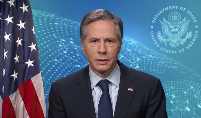 آنتونی بلینکن ، رئیس دیپلماسی ایالات متحده ، 24 فوریه 2021