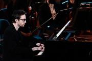 Le pianiste Alexandre Tharaud aux 28es Victoires de la musique classique, à l'Auditorium de Lyon, le 24 février 2021.
