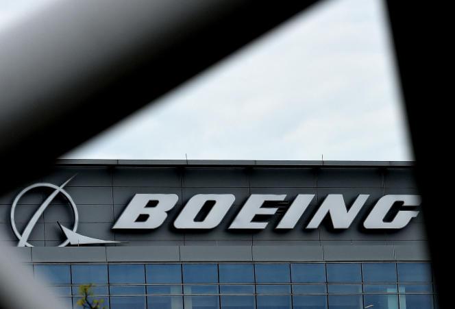 Les bureaux de Boeing, à Arlington, en Virginie, le 29 avril 2020.