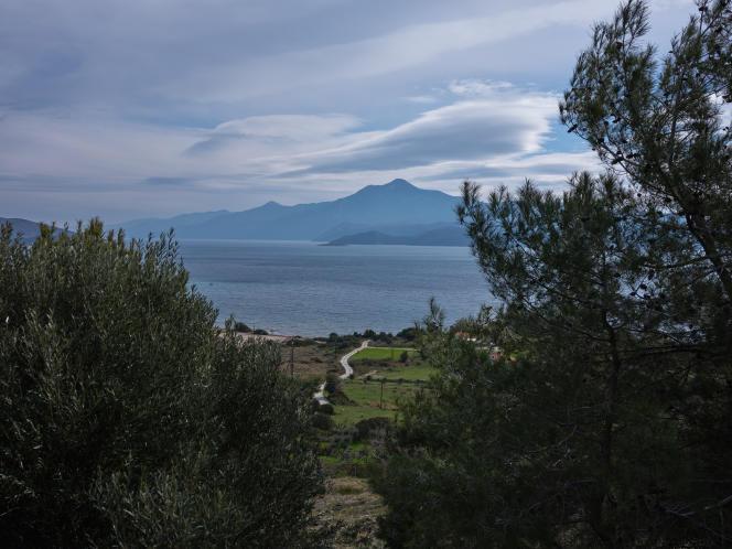Les côtes turques vues de Samos, le 18 février 2021.
