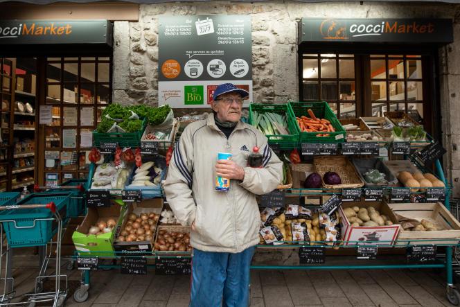 Au Cocci Market de Meyrueis (Lozère), le 6 février.