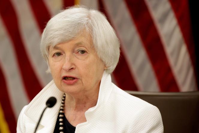 La secrétaire au Trésor américainJanet Yellen, en septembre 2017, à Washington.