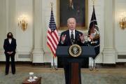 Joe Biden, à la Maison Blanche, le 24 février 2021.