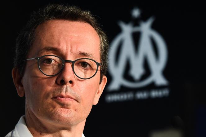 Jacques-Henri Eyraud n'est plus le président de l'Olympique de Marseille.