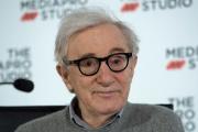 Woody Allen, en juillet 2019, lors d'une conférence de presse à Saint-Sébastien (Espagne).