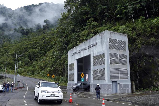 La centrale hydroélectrique Coca Codo Sinclair dans la province de Napo, en Equateur, le 20 novembre 2018.