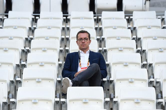 Jacques-Henri Eyraud, le 20 septembre 2018 à Marseille.