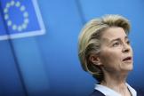 La présidente de la Commission européenne, Ursula von der Leyen, à Bruxelles, le 26 février 2021.