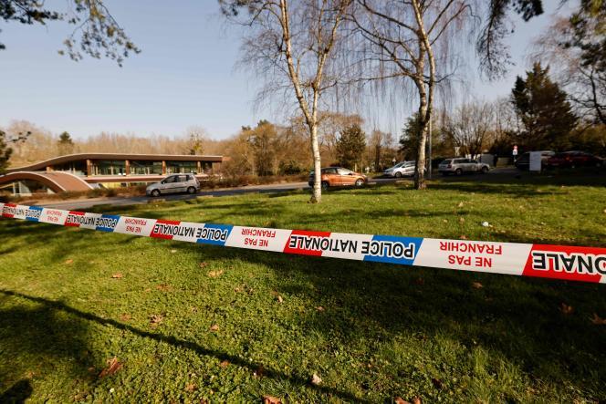 Un quartier bouclé de Boussy-Saint-Antoine (Essonne), banlieue sud de Paris, le 24 février.