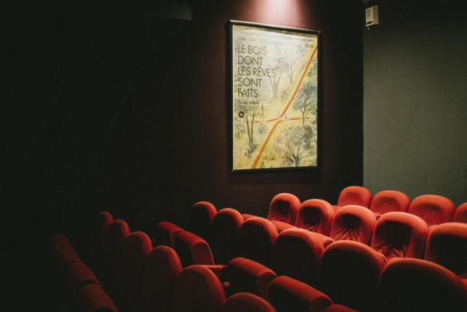 La salle 2 du cinéma le Reflet Médicis, à Paris.