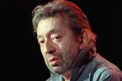 Serge Gainsbourg lors d'une répétition au Zénith de Paris, le 14 mars 1988.