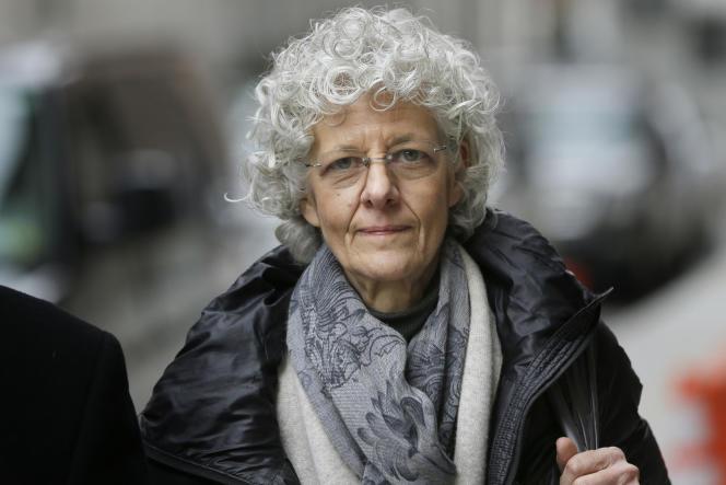 Ann Freedman, ancienne directrice de la galerie Knoedler & Company, à New York, le 9 février 2016.