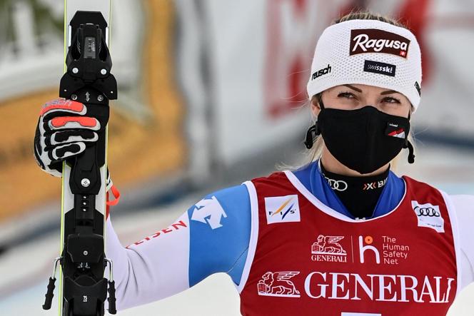 Après deux victoires en descente, vendredi et samedi, Lara Gut-Behrami s'est «contentée» de la deuxième place dimanche sur le super-G de Val di Fassa (Italie).