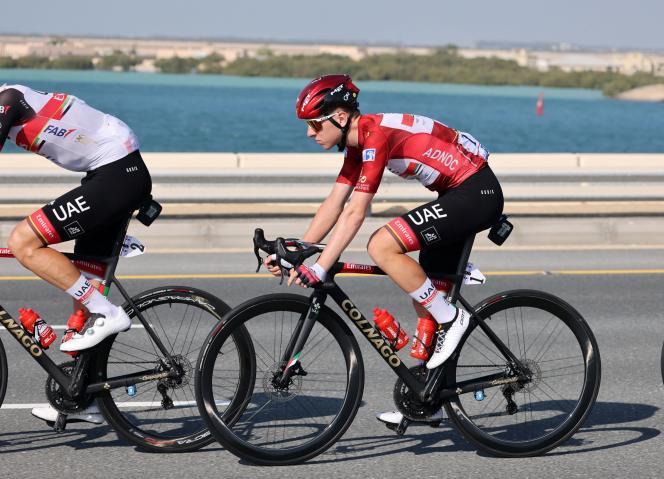Tadej Pogacar a remportél'UAE Tour, première épreuve WorldTour de la saison.