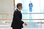 Nicolas Sarkozy, au tribunal de Paris, le 1er mars.