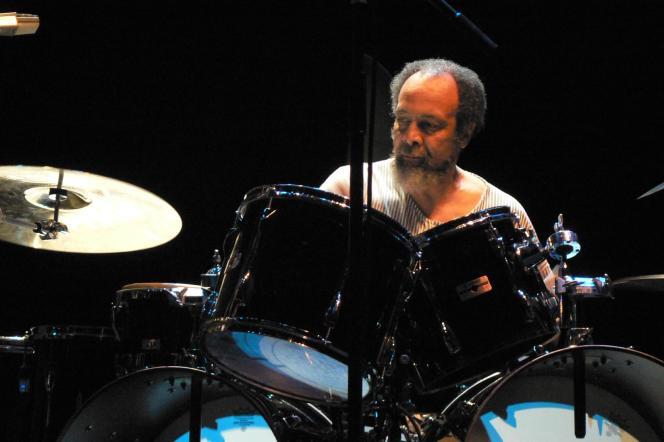 Milford Graves, en 2006, àFarnborough, au Royaume-Uni.