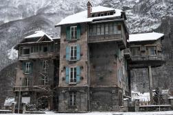 Le pavillon Keller, dans le village de Livet-et-Gavet (Isère), le 25janvier.